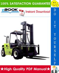 Clark C60, C70, C80 Forklift Trucks Service Repair Manual | eBooks | Technical