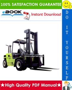Clark CQ20D, CQ25D, CQ30D, CQ20L, CQ25L, CQ30L Forklift Trucks Service Repair Manual | eBooks | Technical
