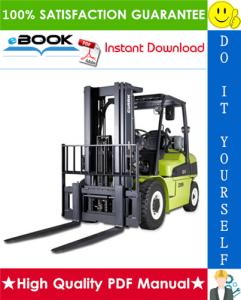 clark cmp 50, cmp 60, cmp 70, cmp 75s forklift trucks service repair manual