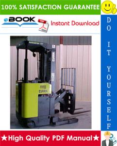 Clark NPR 17, NPR 20 Forklift Trucks Service Repair Manual | eBooks | Technical