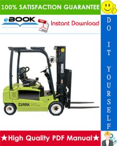 Clark SF20D, SF25D, SF30D, SF20L, SF25L, SF30L, SF20G, SF25G, SF30G, CMP20D, CMP25D, CMP30D, CMP20L, CMP25L, CMP30L, CMP20G, CMP25G, CMP30G Forklift Trucks Service Repair Manual | eBooks | Technical