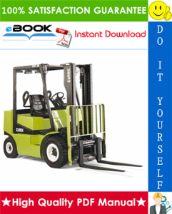Clark CGP16, CDP16, CGP18, CDP18, CGP20, CDP20 Forklift Trucks Service Repair Manual | eBooks | Technical