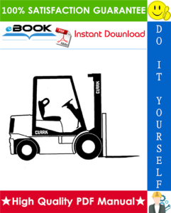 Clark GPX 30, GPX 35, GPX 40, GPX 40S, GPX 50, GPX 55, DPX 30, DPX 35, DPX 40, DPX 40S, DPX 50, DPX 55 Forklift Trucks Service Repair Manual | eBooks | Technical