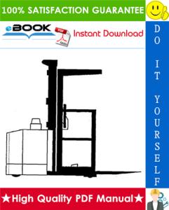 Clark OP15B Electric Order Picker Service Repair Manual   eBooks   Technical