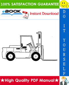 clark gph 50, gph 60, gph 70, gph 75, dph 50, dph 60, dph 70, dph 75 lift trucks service repair manual