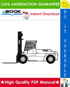 Clark CDP 100, CDP 164 Forklift Trucks Service Repair Manual | eBooks | Technical