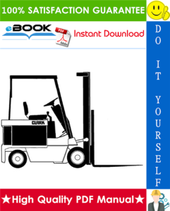 Clark EC 90, EC 120 Forklift Trucks Service Repair Manual   eBooks   Technical