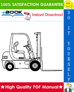 clark cmp 50, cmp 60, cmp 70 forklift trucks service repair manual
