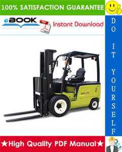 Clark TMX12, TMX13, TMX15s, TMX15, TMX17, TMX18, TMX20, TMX20x, TMX25, EPX16, EPX18 Forklift Trucks Service Repair Manual | eBooks | Technical