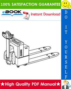 Clark EWP45 Electric Low-Lift Pallet Trucks Service Repair Manual   eBooks   Technical