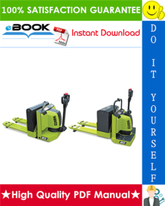 Clark HWX30, HWX40, PWX30, PWX40 Rider Pallet Truck Service Repair Manual | eBooks | Technical