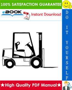 Clark C500 Forklift Truck Overhaul Manual | eBooks | Technical
