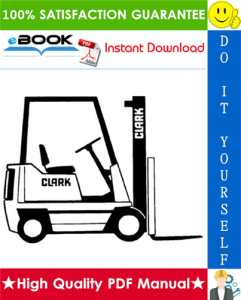 Clark NP300, NS300 Narrow Aisle Trucks Service & Adjustment Manual | eBooks | Technical