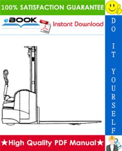 Still Saxby EGV 14, EGV16 Walk-high lift Truck Service Repair Manual | eBooks | Technical