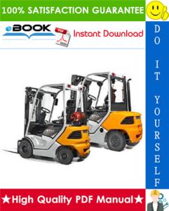 Still RC-40 (4011, 4012, 4013, 4014 , 4015 , 4016, 4017, 40148, 4019, 4020) Diesel / LPG Forklift Trucks Service Repair Manual   eBooks   Technical