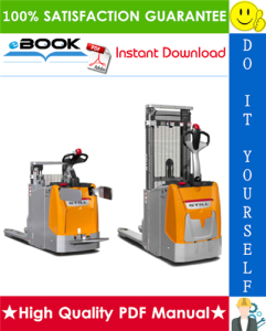Still EXD-20 Double Stacker Service Repair Manual | eBooks | Technical
