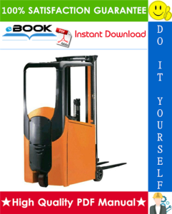 Still ESM10 Electric Pallet Stacker Service Repair Manual | eBooks | Technical