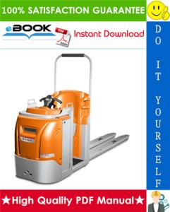 Still COP (COP20, COP10H, COP07L) order picker Service Repair Manual | eBooks | Technical