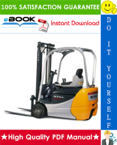 still rx50-10, rx50-13, rx50-15, rx50-16 electric forklift trucks service repair manual