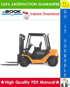 Still R70-20, R70-25, R70-30, R70-35, R70-40, R70-45 LPG/Diesel Fork Truck Service Repair Manual | eBooks | Technical