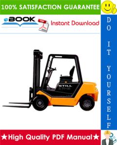 Still R70-20, R70-25, R70-30 LPG/Diesel Fork Truck Service Repair Manual | eBooks | Technical