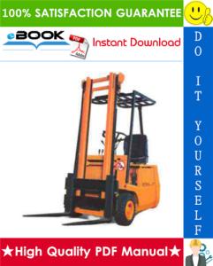 still r50-10, r50-12, r50-15, r50-16 electric fork truck service repair manual