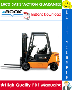 still r70-16, r70-18, r70-20 diesel/lpg forklift trucks service repair manual