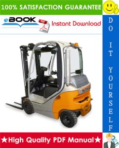 Still RX70-16, RX70-18, RX70-20 Diesel/LPG Forklift Trucks Service Repair Manual | eBooks | Technical