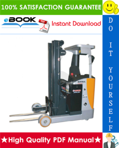 Still FM-X-10, FM-X-14, FM-X-17, FM-X-20, FM-X-25 Explosion- Protected Reach Truck Service Repair Manual | eBooks | Technical