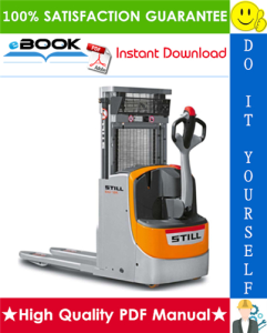 Still EXD-18 Compact Double Stacker Service Repair Manual | eBooks | Technical