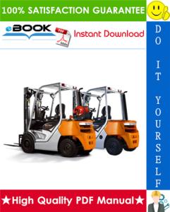 Still RC40-16, RC40-17, RC40-18, RC40-20, RC40-25, RC40-30, RC40-33, RC40-35 Diesel/LPG Forklift Trucks Service Repair Manual | eBooks | Technical
