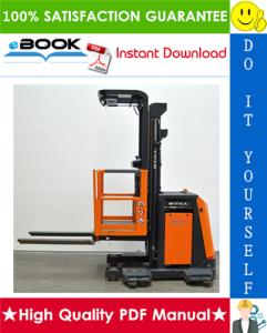 Still EK11, KE12 Order Picker Service Repair Manual | eBooks | Technical