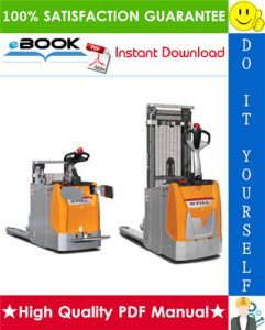 Still EXD 20, EXD-SF 20 Double Stacker Service Repair Manual | eBooks | Technical