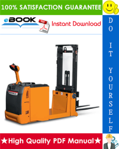 Still EXG-10, EXG-12, EXG-16 Electric Counterweight Pallet Stacker Service Repair Manual | eBooks | Technical