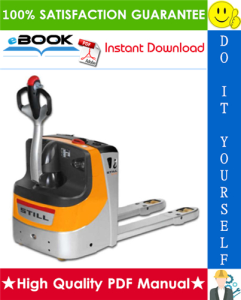 Still EXU-16, EXU-18, EXU-20 Power Pallet Truck Service Repair Manual | eBooks | Technical