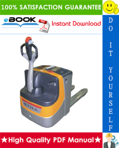 Still EXU-16 (AC), EXU-18 (AC), EXU-20 (AC), EXU-22 (AC) Power Pallet Trucks Service Repair Manual | eBooks | Technical