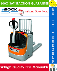 Still EXU-H Power Pallet With Supplementary Lift Service Repair Manual | eBooks | Technical