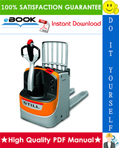 Still EXU-H (AC) Power Pallet With Supplementary lift Service Repair Manual | eBooks | Technical