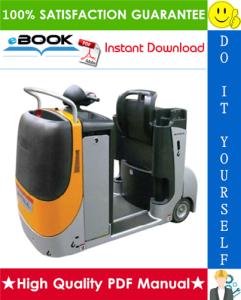 Still CX-T Electric Tractor Service Repair Manual | eBooks | Technical