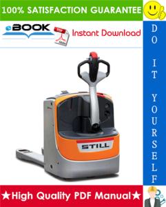 Still EXU 16, EXU 18, EXU 20, EXU 22, EXU 20 S, EXU 22 S Electric Pallet Truck Service Repair Manual | eBooks | Technical