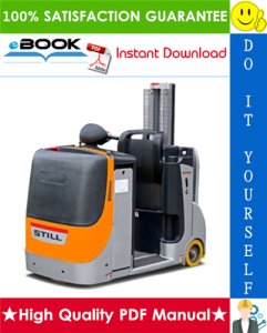 Still KANVAN-05 Forklift Towing Tractor Service Repair Manual | eBooks | Technical