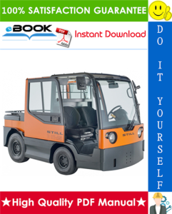 Still R07-25, R08-20 Series 127 Electric Tractor Service Repair Manual | eBooks | Technical