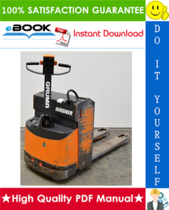 Still Wagner EGU 14, EGU 16, EGU 20 Electric Pallet Truck Service Repair Manual | eBooks | Technical