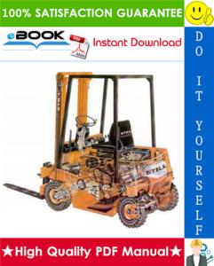 Still R70-15, R70-16 Forklift Trucks Service Repair Manual | eBooks | Technical
