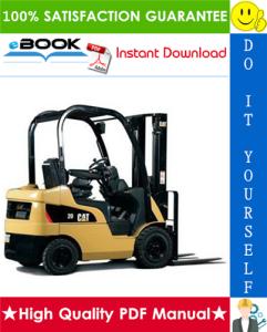 caterpillar cat ep13t 36v, ep13t 48v, ep15t 36v, ep15t 48v, ep18t 36v, ep18t 48v, ep20t 36v, ep20t 48v lift trucks (microcommand control system) service repair manual