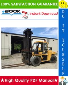 caterpillar cat dp80, dp90 lift trucks service repair manual