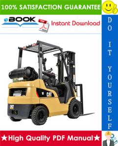 caterpillar cat dp15k mc, dp18k mc lift trucks service repair manual