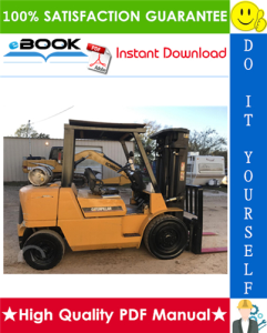 caterpillar cat gp40k, gp40kl, gp45k, gp50k lift trucks (gasoline engine) service repair manual