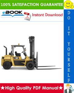 Caterpillar Cat DP60, DP70 Lift Trucks Service Repair Manual | eBooks | Technical