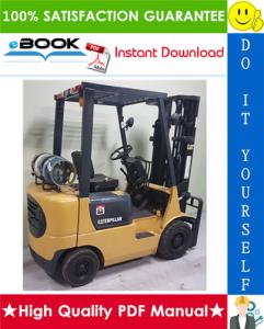 caterpillar cat gp15k mc, gp18k mc, gp20k mc, gp25k mc, gp30k mc, gp35k mc lift trucks chassis, mast & options service repair manual